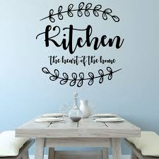 Kitchen Wall Decal Kitchen Vinyl Decor Wall Decal Customvinyldecor Com