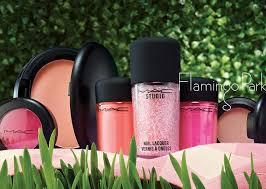 mac flamingo park makeup collection for