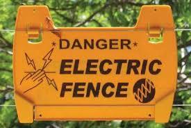Warning Sign Electric Fencing Nemtek