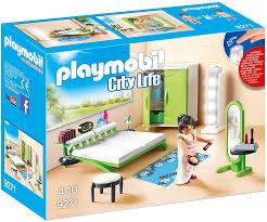 Amazon Com Playmobil Bedroom Set Building Set Toys Games
