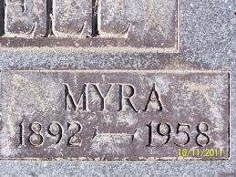 Myra Rose Myers Jarrell (1892-1958) - Find A Grave Memorial
