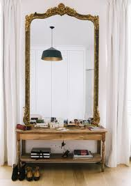 oversized mirror for entryway
