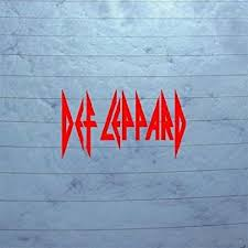 Amazon Com Def Leppard Notebook Decor Window Car Die Cut Auto Art Sticker Decal Vinyl Wall Macbook Uk Rock Band Decoration Wall Art Red Adhesive Vinyl Helmet Laptop Home Decor Bike Home