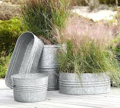 metal planter boxes galvan planters box