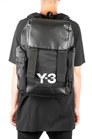 y 3 mobility backpack in black
