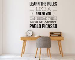 Break The Rules Wall Decal Kuarki Lifestyle Solutions