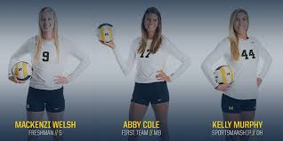 Cole, Welsh Earn All-B1G Conference Honors - University of Michigan  Athletics