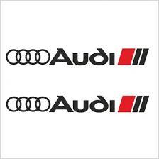 2pcs Audi Sport Decal Sticker M1 Everything Graphix