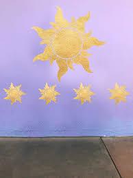 Amazon Com Tangled Sun Decal Rapunzel Star Decal From Movie Tangled Disney Princess Wall Decal Handmade