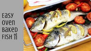 HOW TO MAKE EASY OVEN BAKED FISH - OVEN ...