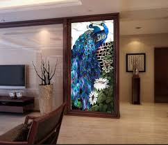 art pattern stained glass mosaic mural