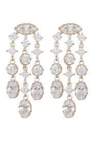 nadri georgian cz chandelier earrings