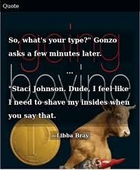So What's Your Type? Gonzo Asks a Few Minutes Later Staci Johnson ...