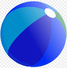 Beach Ball Vector Clip Art Blue Beach Ball Clipart Png Image With Transparent Background Toppng