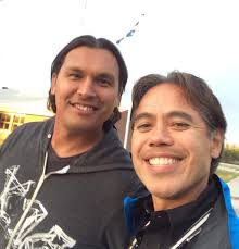 "Dr. Evan Adamsさんのツイート: ""@Sherman_Alexie Adam Beach & I were ..."