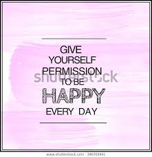 motivational quote on watercolor background give stock