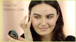 fall makeup look in 5 easy steps