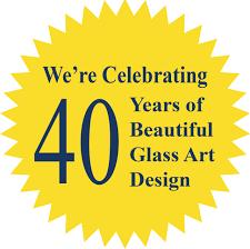 the leaded glass studio glass décor