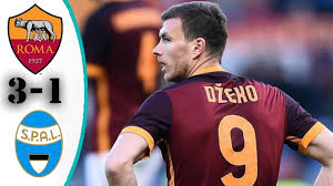 Roma Vs SPAL 3-1 - All Goals & Highlights - 1/12/ 2017 - YouTube