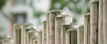Wood Fencing On Uneven Ground
