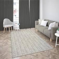 modern living room with nonslip backing