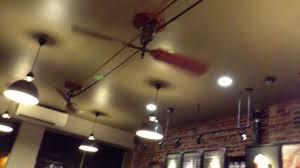 cool ceiling fan starbucks nyc new york