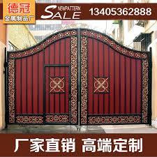 villa gate cast iron garden gate