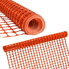 Houseables Dog Fence Garden Fencing 4 X 100 1 Pack Orange Plastic Mesh Poultry Netting Animal Barrier Temporary Fences For Above Ground Pool Pet Deer Chicken Snow Dogs Rabbit Safety Amazon In Industrial