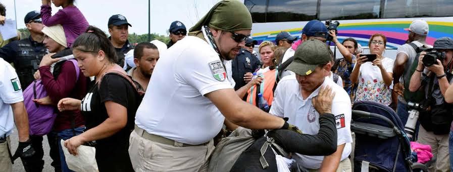 """Resultado de imagen de """"Invisibles""""; medio millón de migrantes rebotan por México"""""""