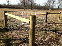 High Tensile Woven Wire Kramer Fence Construction Inc