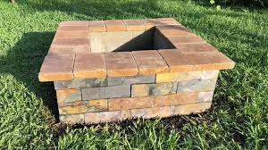 14 cool diy cinder block fire pits