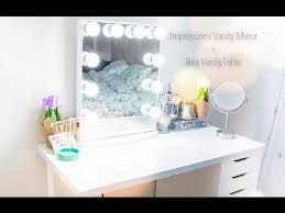 impressions vanity mirror ikea vanity
