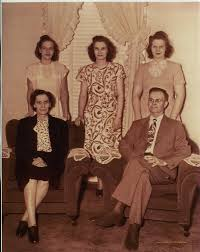 Arthur and Iva Smith & 3 daughters