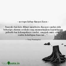 nestapa hidup dinegeri quotes writings by murti iryanti
