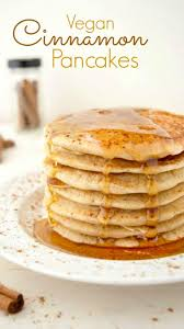 vegan cinnamon pancakes where you get