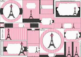 Paris Free Printable Candy Bar Labels Invitaciones Para