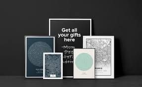 gift decor print custom text