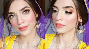 mehndi makeup simple saubhaya makeup