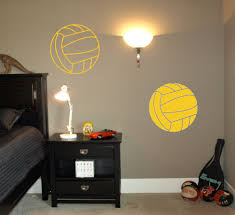 Waterpolo Balls Wall Decal Trading Phrases