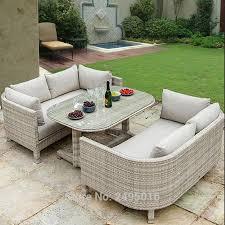 3 pcs outdoor patio furniture dining