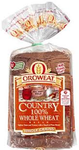 oroweat country 100 whole wheat bread