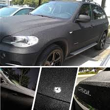 Car Styling Glitter Diamond Vinyl Films Wrap Matte Black Sanding Car Sticker Auto Decoration Motorcycle Decal Orino Wrapping Car Stickers Aliexpress