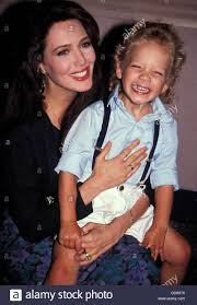 Hunter Tylo With Son Michael Tylo Jr. 22nd Oct, 2007 Stock Photo - Alamy