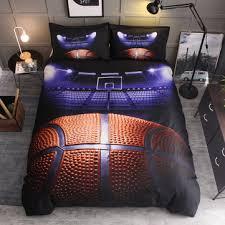 3 pcs bedding sets ball sports quilt