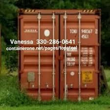 steel conex storage cargo