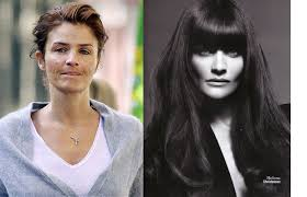 secret models with no makeup