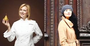 Chefs Anna Olsen (left) and Jackie Ellis of Eat! Vancouver.