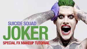 squad joker special fx makeup