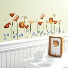 Wallies Springtime Poppies Wall Decal Reviews Wayfair