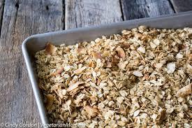 ing homemade gluten free granola